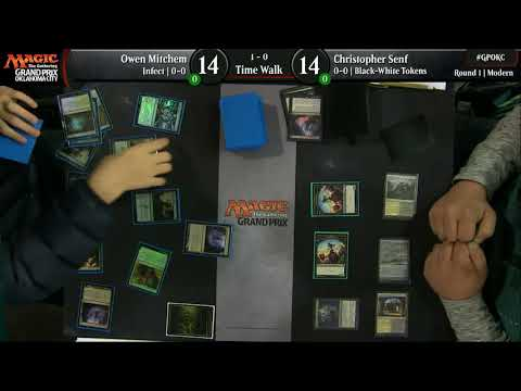 Magic the Gathering GP OKC 2017 Round 1 Time Walk
