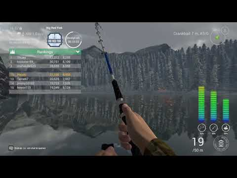 Fishing Planet PS4 Big Red Fish (Upd 1.05) Alberta Competion