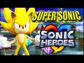 Sonic Heroes - How To Play As Team Super Sonic In Regular Stages