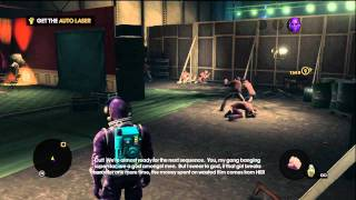 Saints Row the Third: First Contact, Lights! Camera! Action!