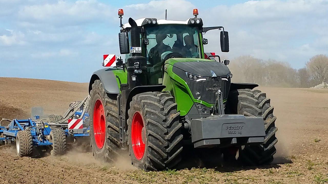 hektarjagd  effiziente landtechnik im einsatz  fendt