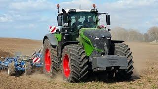 Hektarjagd - Effiziente Landtechnik im Einsatz - Fendt Vario 1050