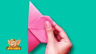 Origami - Make a Heart Bookmark