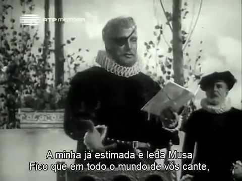 Camões lê Os Lusíadas a D. Sebastião