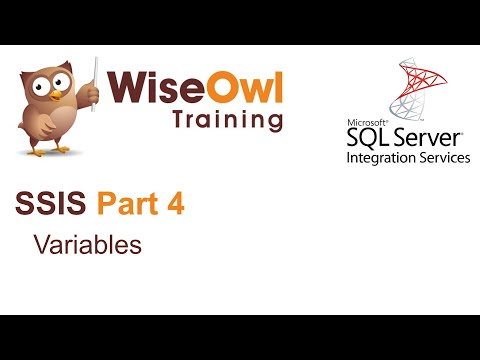 SQL Server Integration Services (SSIS) Part 4 - Variables