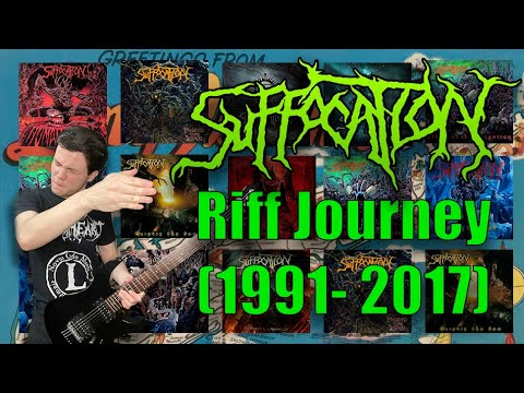 Download SUFFOCATION Riff Journey (1991 - 2017 Guitar Riff Compilation)