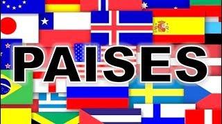 Los Paises Y Nacionalidades En Ingles Youtube