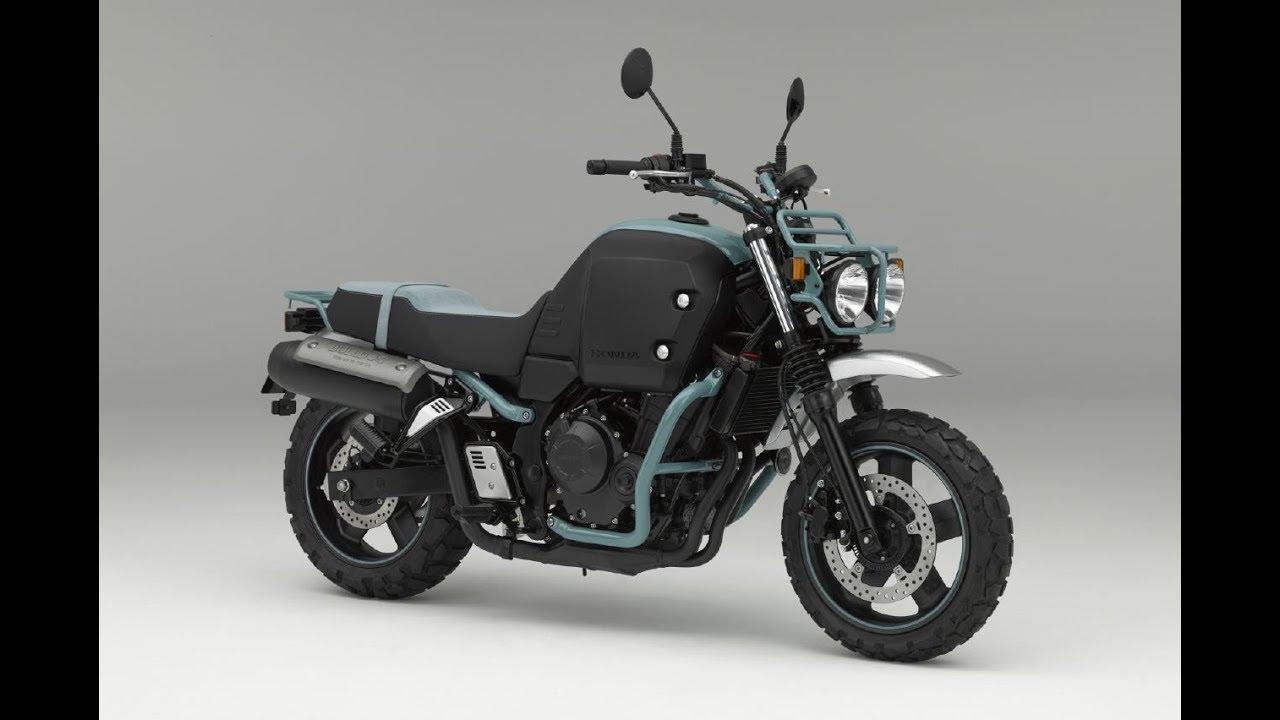 Honda Bulldog 400cc Four Stroke 2018 Honda Unveils Bulldog Concept