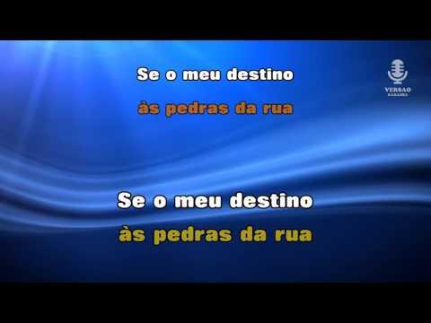 ♫ Karaoke NEGRO DESTINO - Dino Meira