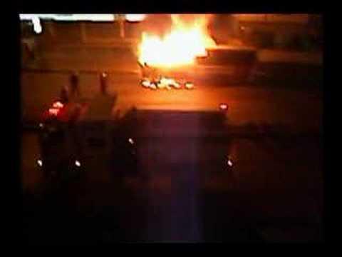 BURNING BUS - INCENDIO DE AUTOBUS [ CUMANA,SUCRE-VENEZUELA ]