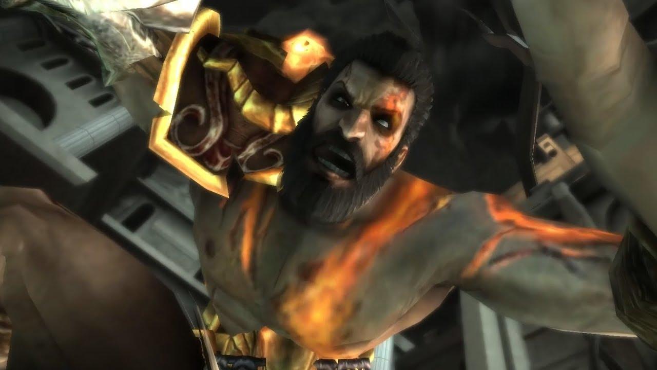 Kratos Brother Deimos Kratos Fights H...