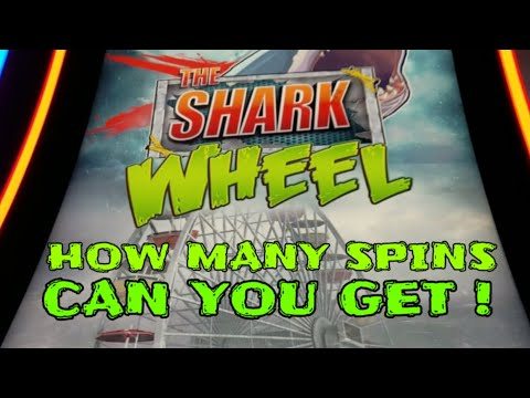 Sharknado {THE SHARK WHEEL} How Many Spins Can You Get?