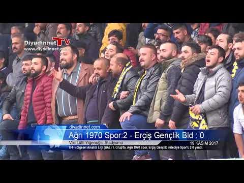 Ağrı 1970 Spor: 2 - Erçiş Gençlik Belediye Spor : 0