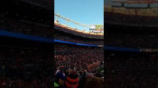 Loud stadium.... BRONCOS