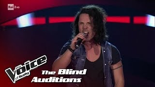"Mirko Carnevali ""Smells like teen Spirit"" - Blind Auditions #1 - The Voice of Italy 2018"