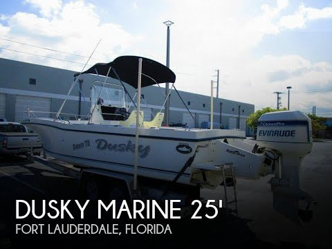 Used 1999 Dusky Marine 256 Center Console for sale in Fort Lauderdale, Florida