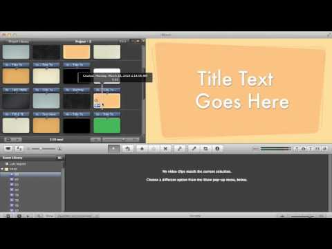 how to add text boxes in imovie