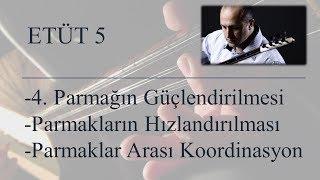 Mehmet KINIK - Uzun Sap Bağlama Parmak Egzersizleri (Etüt 5)