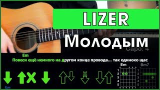 LIZER - Молодым   Разбор песни на гитаре   Табы, аккорды и бой