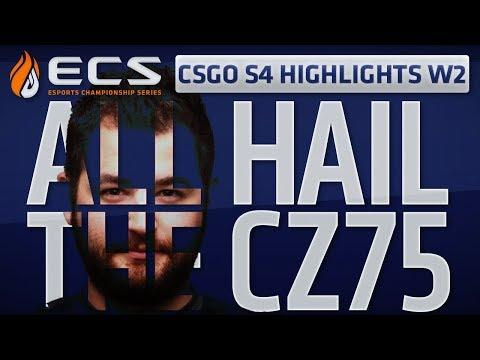 All Hail The CZ75 (ECS CSGO S4 W2 4K Highlights)