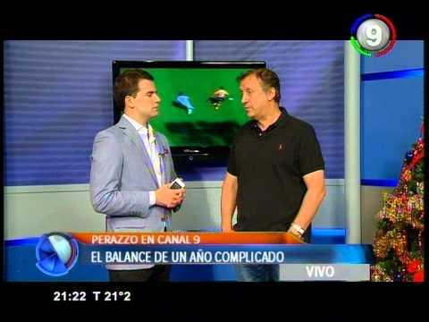El DT Walter Perazzo en VIVO en el Noticiero de Canal 9 de 2da Edicion