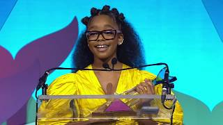 Marsai Martin Accepts The Phenom Award For Entertainment || Shorty Awards 2019