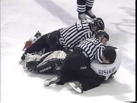 Can't decide if the goalie fight or commentary is better. Legitimately befuddled.