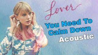 Taylor Swift - You Need To Calm Down (Acoustic Version) spotify