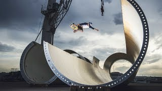 Sheckler & Co. Skate a Wind-Turbine Park