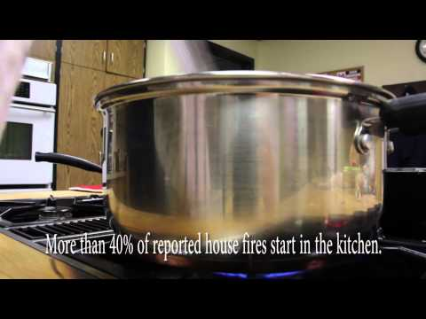 Yakima Fire Department Fire Prevention Week - Kitchen Safety