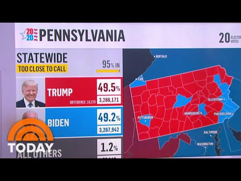 Biden Takes Lead In Georgia, Gains In Pennsylvania As Vote Counts Continue | TODAY