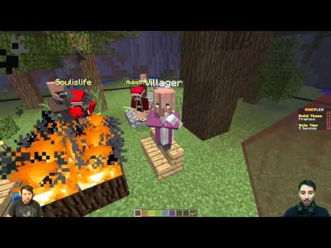 Minecraft Yapı Kapışması - İyi Olan Kazansın /w Gitarist /w Eso Channell