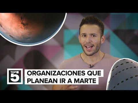 Viaje a Marte: ¿Quién nos llevará primero al Planeta Rojo?
