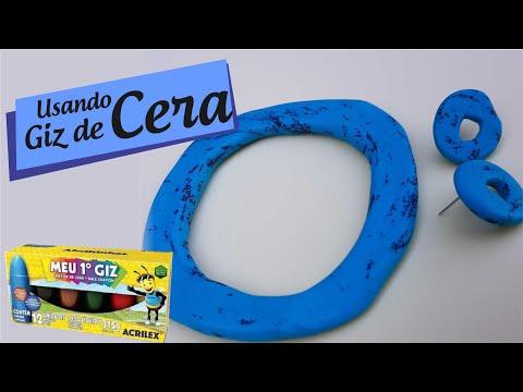 Passo a passo - Como usar Giz de Cera na Cerâmica Plástica/Polymer Clay!
