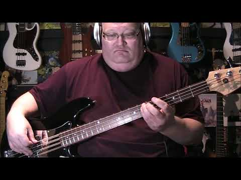 Philip Bailey & Phil Collins Easy Lover Bass Cover with Notes & Tab
