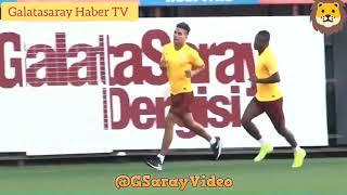 Falcao'nun Galatasaray'da çıktığı ilk antr