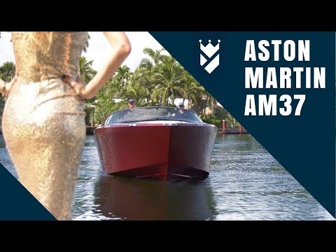 Aston Martin Hits the Water with the AM37!