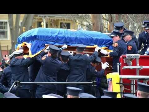 Funeral Procession for Lieutenant Edward J. Walsh Jr.
