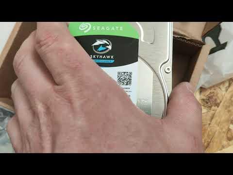 Жорсткий диск Seagate SkyHawk HDD 3TB 5400rpm 256MB ST3000VX009 3.5 SATAIII