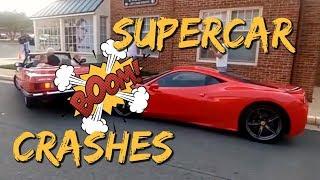 New 2018 SuperCar Crashes / Fails Compilation