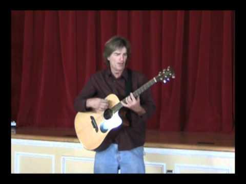 Doug Giordani sings Christmas Holiday music in Santa Barbara