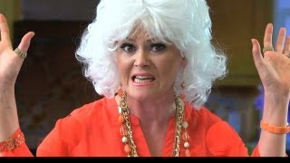Paula Deen tries to cook up more excuses for y'all! Subscribe to Ba...