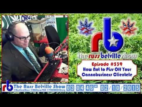 The Russ Belville Show #539 - Addiction Expert Joe Schrank Says Legalize Weed