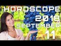 Today's Daily Horoscope 11 September 2018 Each Zodiac Signs