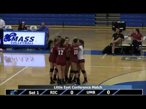 UMass Boston Volleyball vs. Rhode Island College (9/23/14) Webcast