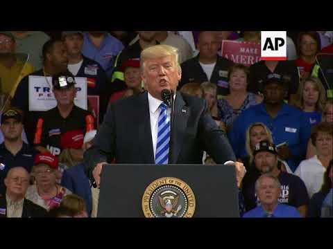 Trump Talks Russia, Immigration, 'Fake News'