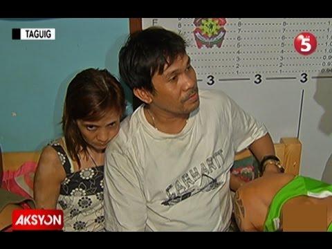 MAG-LIVE-IN PARTNER NA OPERATOR UMANO NG DRUG DEN SA TAGUIG, ARESTADO