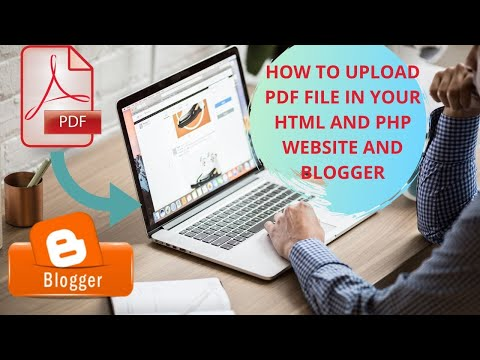 How To Upload Pdf File In Your Html And Php Website And Blogger