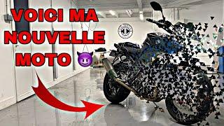 VOICI MA NOUVELLE MOTO !