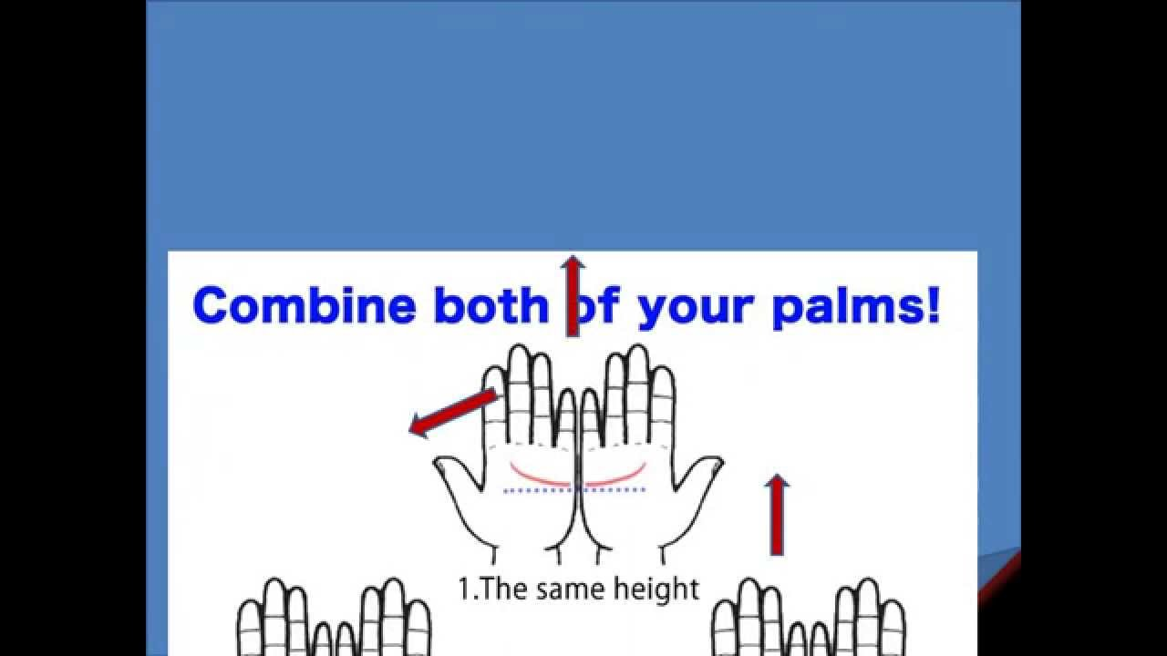 how to do a palm reading yourself [ 1280 x 720 Pixel ]